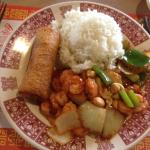 Dragon House - Kung Pao Shrimp lunch