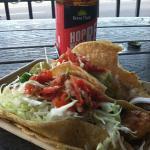 Fish Tacos and Green Flash beer - Mmmm!