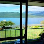 Estúdio com vista do lago