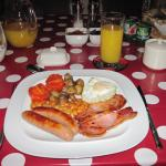 A First Class Full English Breakfast - Superb!