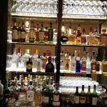 The bar at E tu Bistro