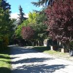 La calle donde se encuentra el hostel