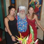 Joni, Santa & Michelle