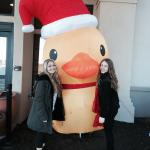 Love the holiday rubber ducky