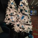 Renaissance Lobby Christmas Trees 2014