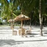 Private Beach - huts for relaxation