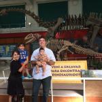 Una tarde feliz con los dinosaurios