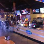 I Like the big screens at the bar