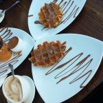 Chocolate Overdose! Get the Waffles!