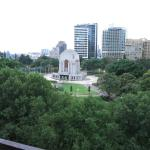 Hyde Park and the Shrine of Remembrance