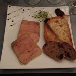 Terrine de foie gras mi-cuit maison