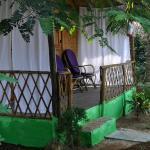 The porch of room no. 4