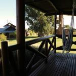 Cabaña La Laguna - Deck exterior