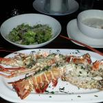 Cena del sabado Langosta (como 1er plato)
