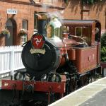 Steam Railway at Port Erin Station