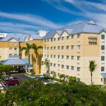 Comfort Suites & Resort.  Located just steps from Seven Mile Beach.