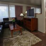 David Pettit Suite - sitting area