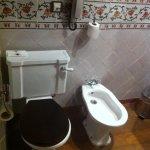 Baño clásico. Doble lavabo.