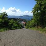 The Hill down to Cruz Bay