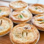 Pies have edible labels