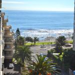 View from balcony @Protea Sea Point