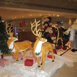 Christmas in the lobby!
