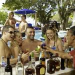 Enjoy Premium Liquor at the Swim-up Bar at the Prude Beach Bar.