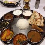 Vegetarian Thali, I will dream of you.