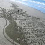 New Brighton Sand Art