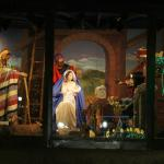 The center exhibit was a life size nativity scene that was awesome!