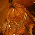 Inside the Garfield Monument