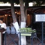 tardecita frente a la plaza principal en el Mezon de Chucho
