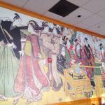 Wall --Japanese ukiuoe