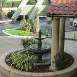 Front entrance - fountain