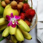 A fruits set up in room.