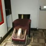 Osim Foot massage near lift lobby. Another thoughtful gesture!