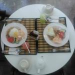 Indonesian breakfast.