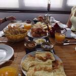 Desayunazo en el riad