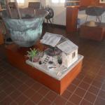 Museo Arubano: aloe diorama