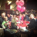 Customer birthday party