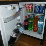 Mini-bar de la chambre