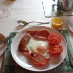 An excellent hot breakfast