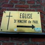 Signalement de l'église Saint Vincent de Paul