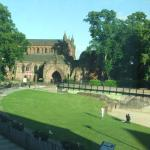 View from Travelodge Central Chester