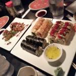 Various Rolls from Sticky Rice