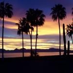 dawn view of Isla del Carmen