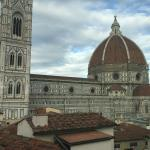 View of Il Duomo from the Panorama suite