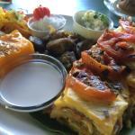 Breadfruit lasagne
