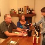 Wine tasting with Mario
