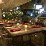 Perfect dinner and even better ambiance, the terrace and the decor at dinner is a great touch to